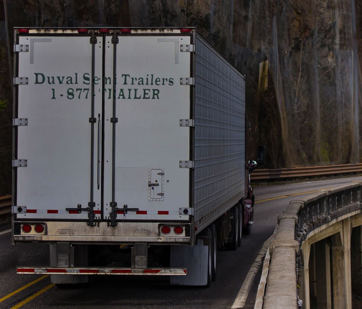 Semi Trailer Rental, Sales and Maintenance from Duval Semi